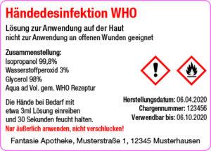 haendedesinfektionsmittel-etikett fuer apotheken